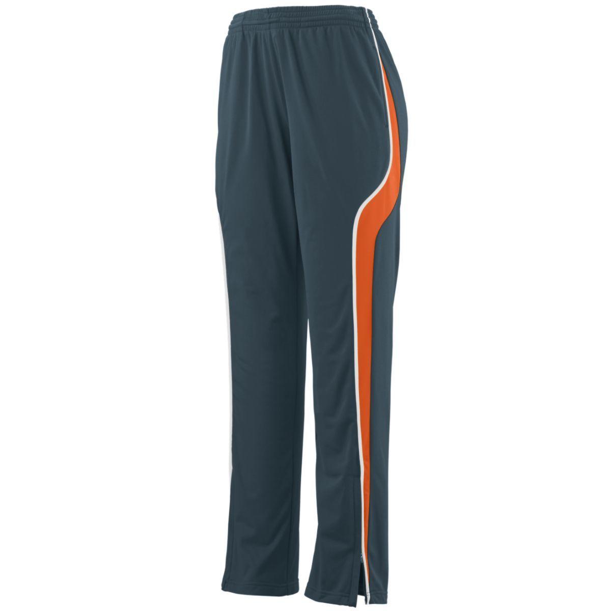 Ladies Rival Pant - SLATE/ORANGE/WHITE