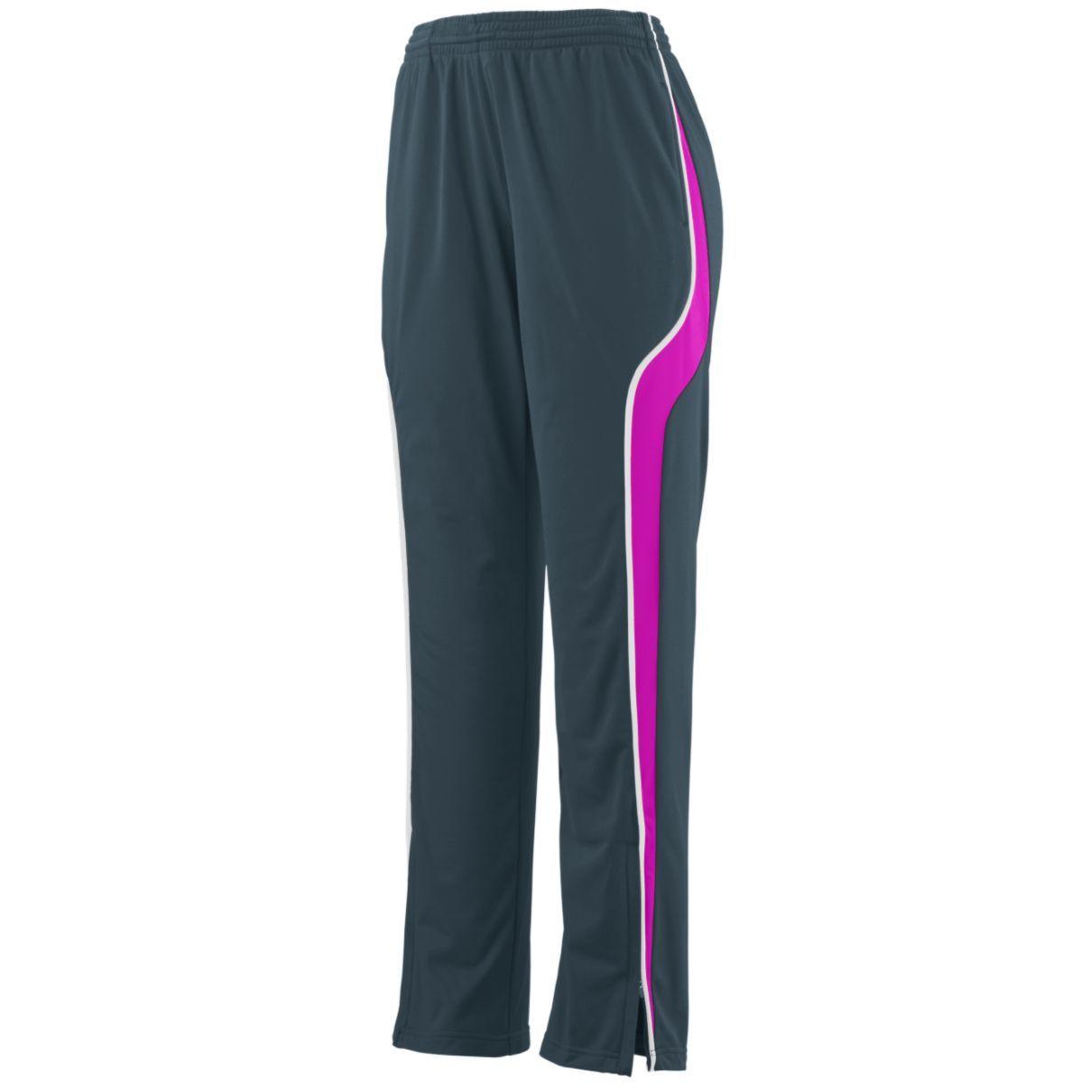 Ladies Rival Pant - SLATE/POWER PINK/WHITE