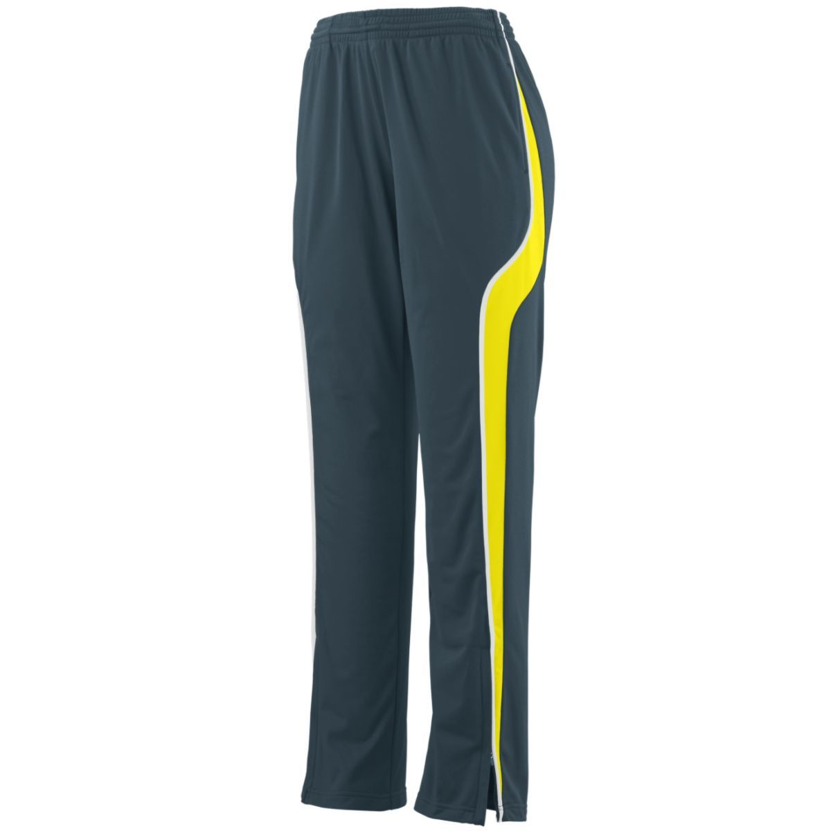 Ladies Rival Pant - SLATE/POWER YELLOW/WHITE