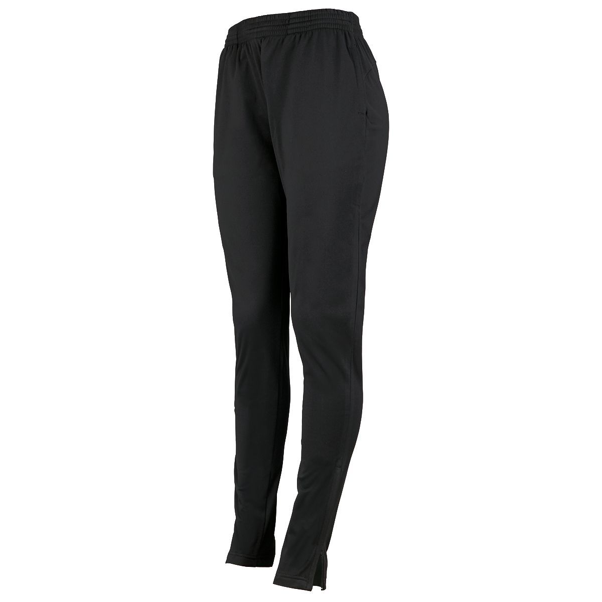 Ladies Tapered Leg Pant - BLACK
