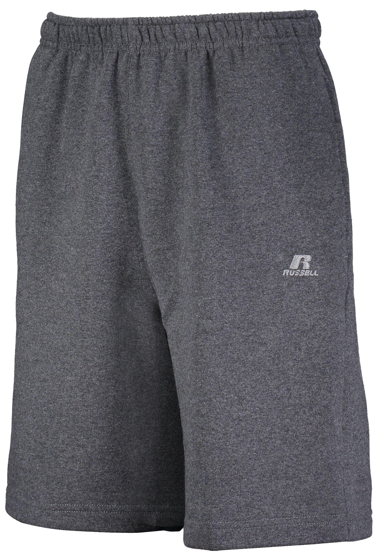 Dri-Power® Fleece Training Shorts With Pockets  - Black Heather