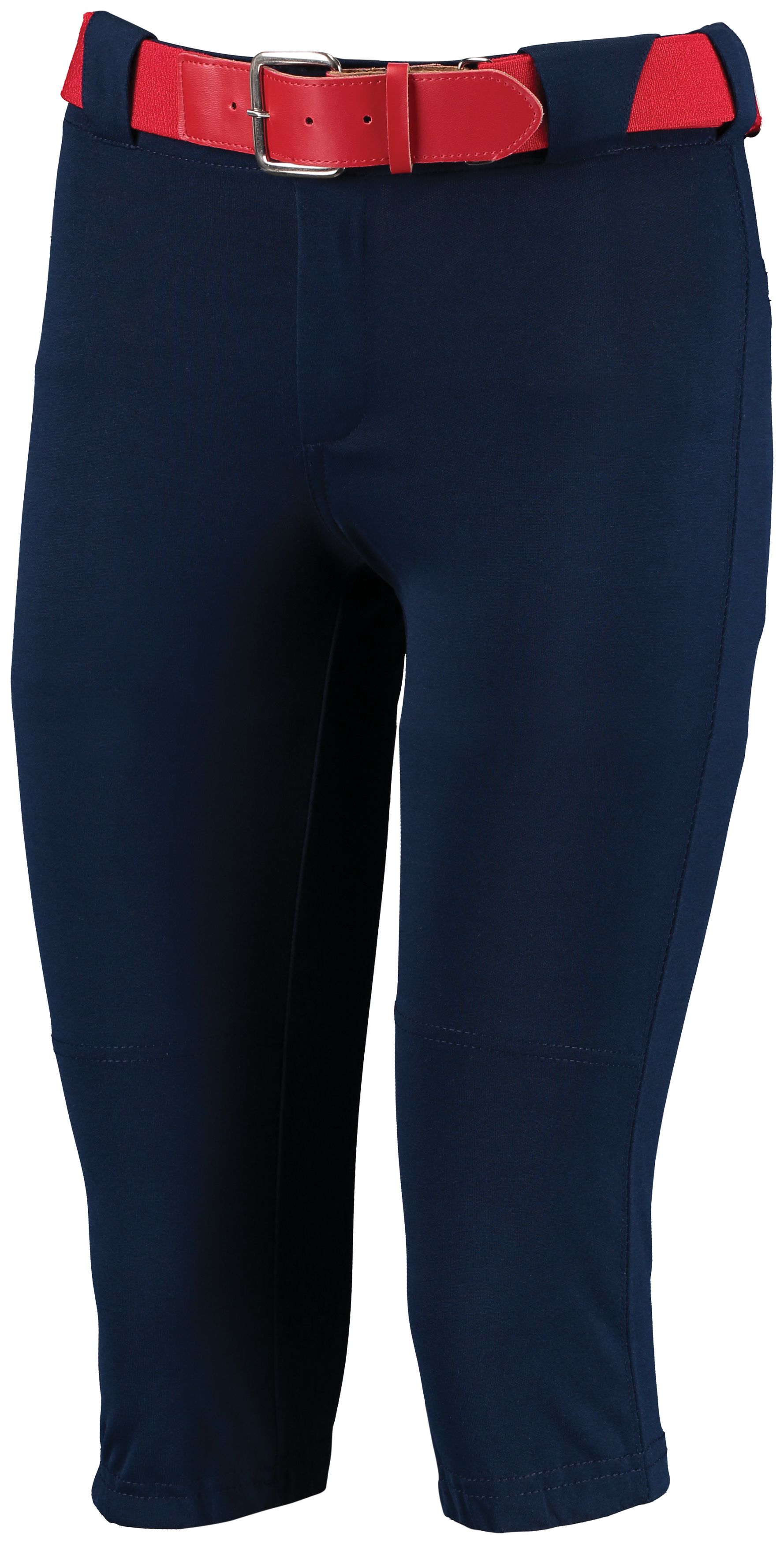 Girls Low Rise Knicker Length Pant - Navy