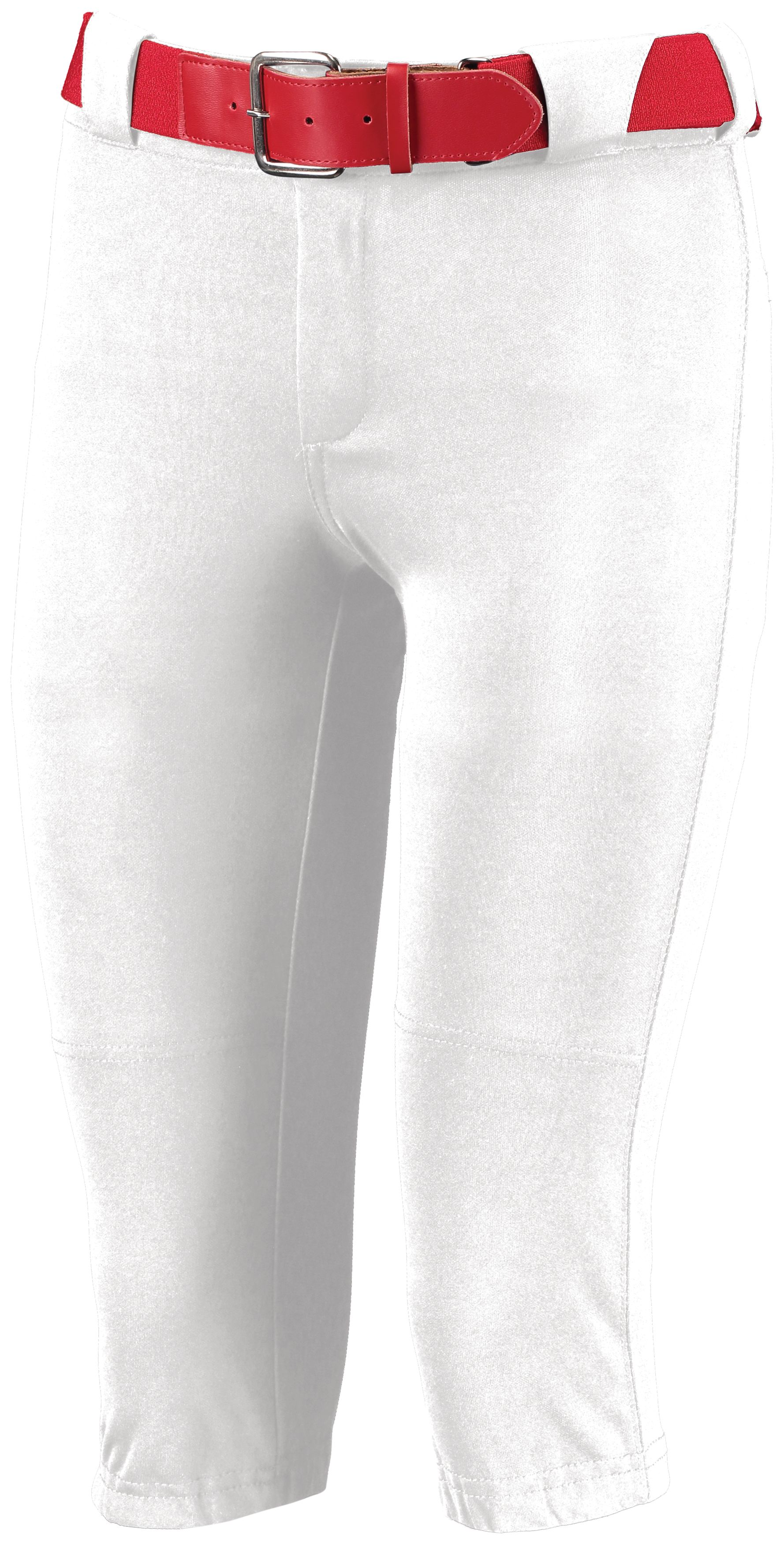 Ladies Low Rise Knicker Length Pant - White