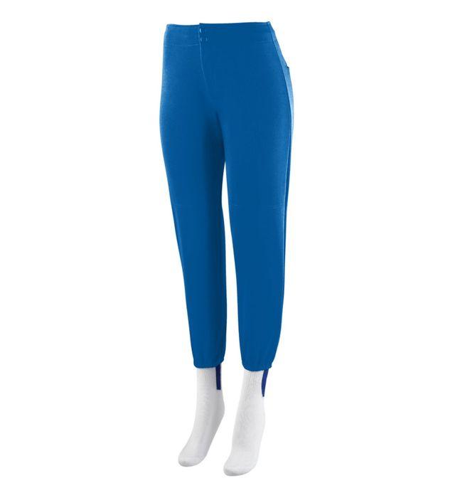 Ladies Low Rise Softball Pant