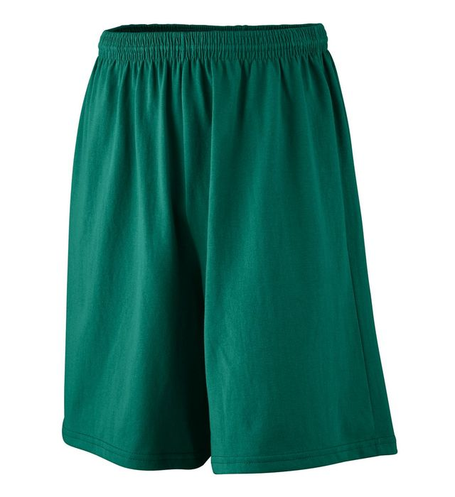 Longer Length Jersey Shorts