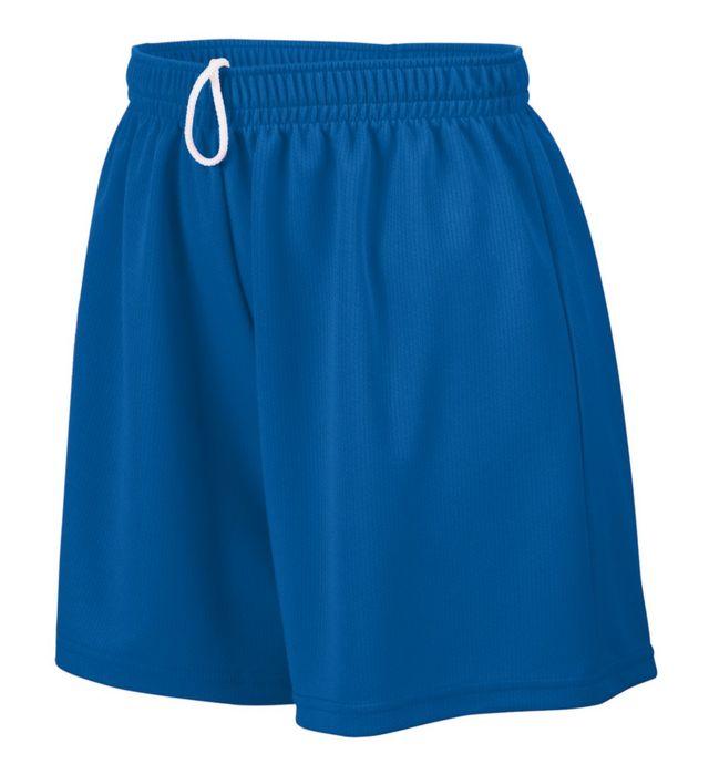 Girls Wicking Mesh Shorts
