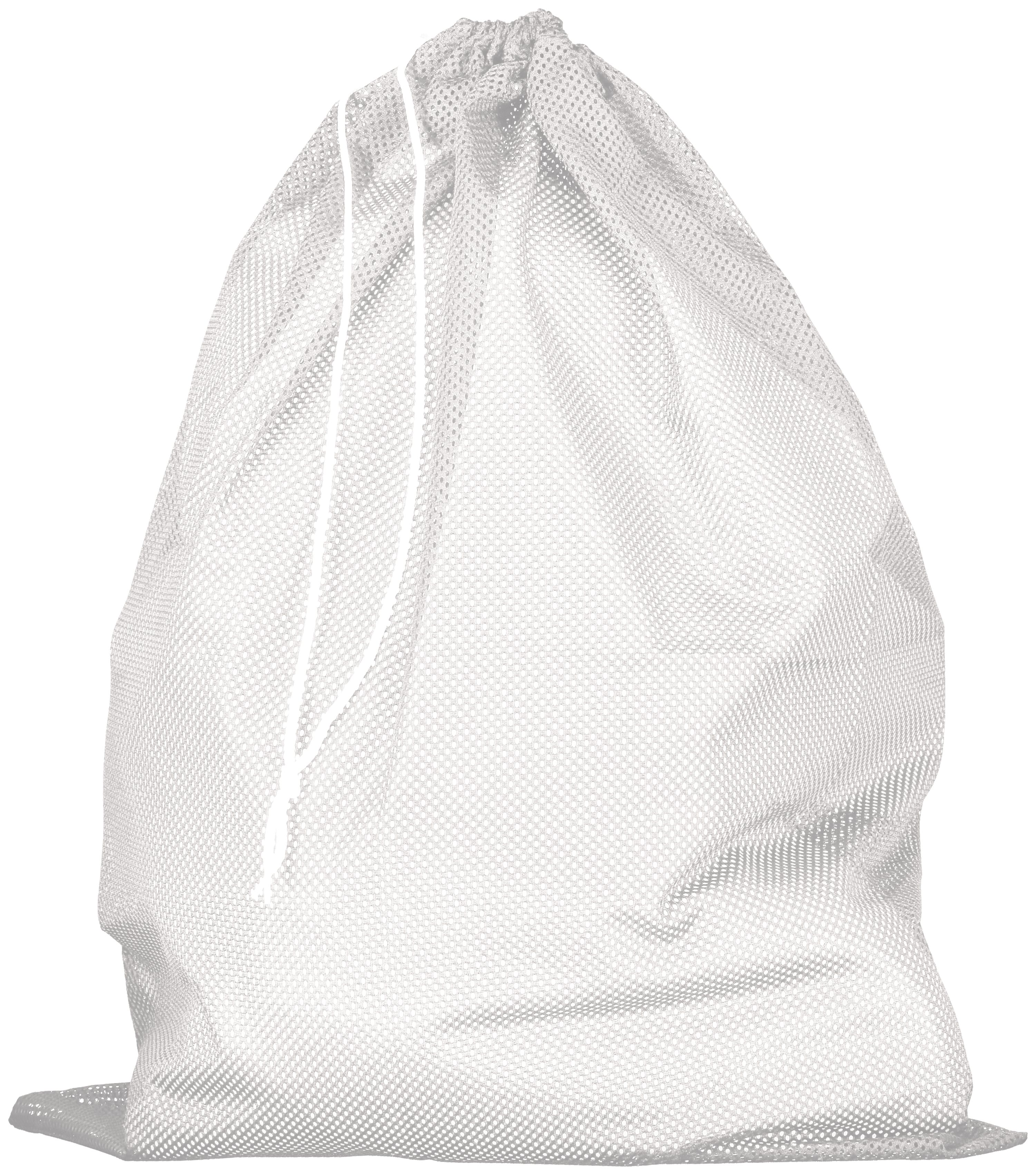 Mesh Laundry Bag - White