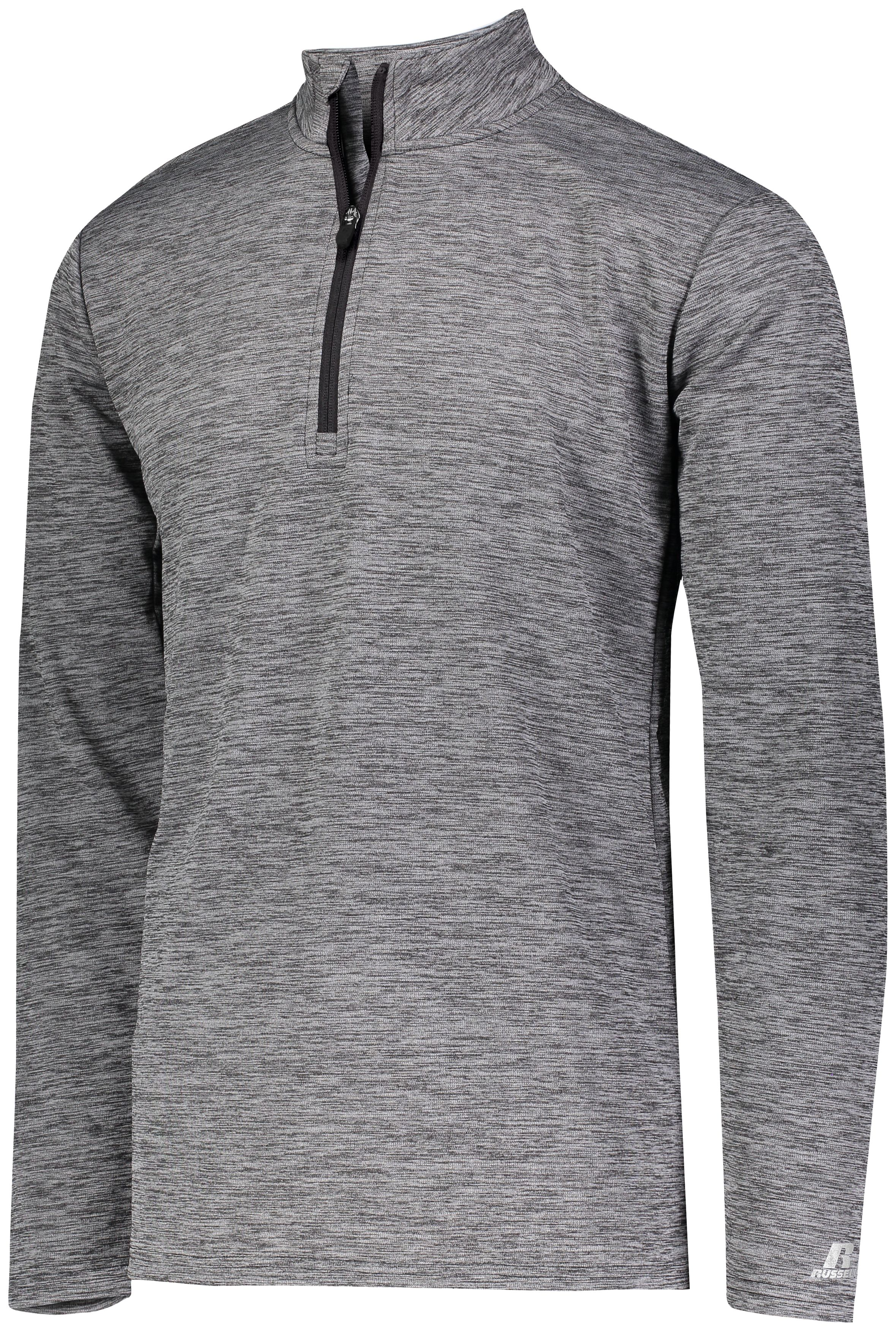 Dri-Power Lightweight 1/4 Zip Pullover - BLACK