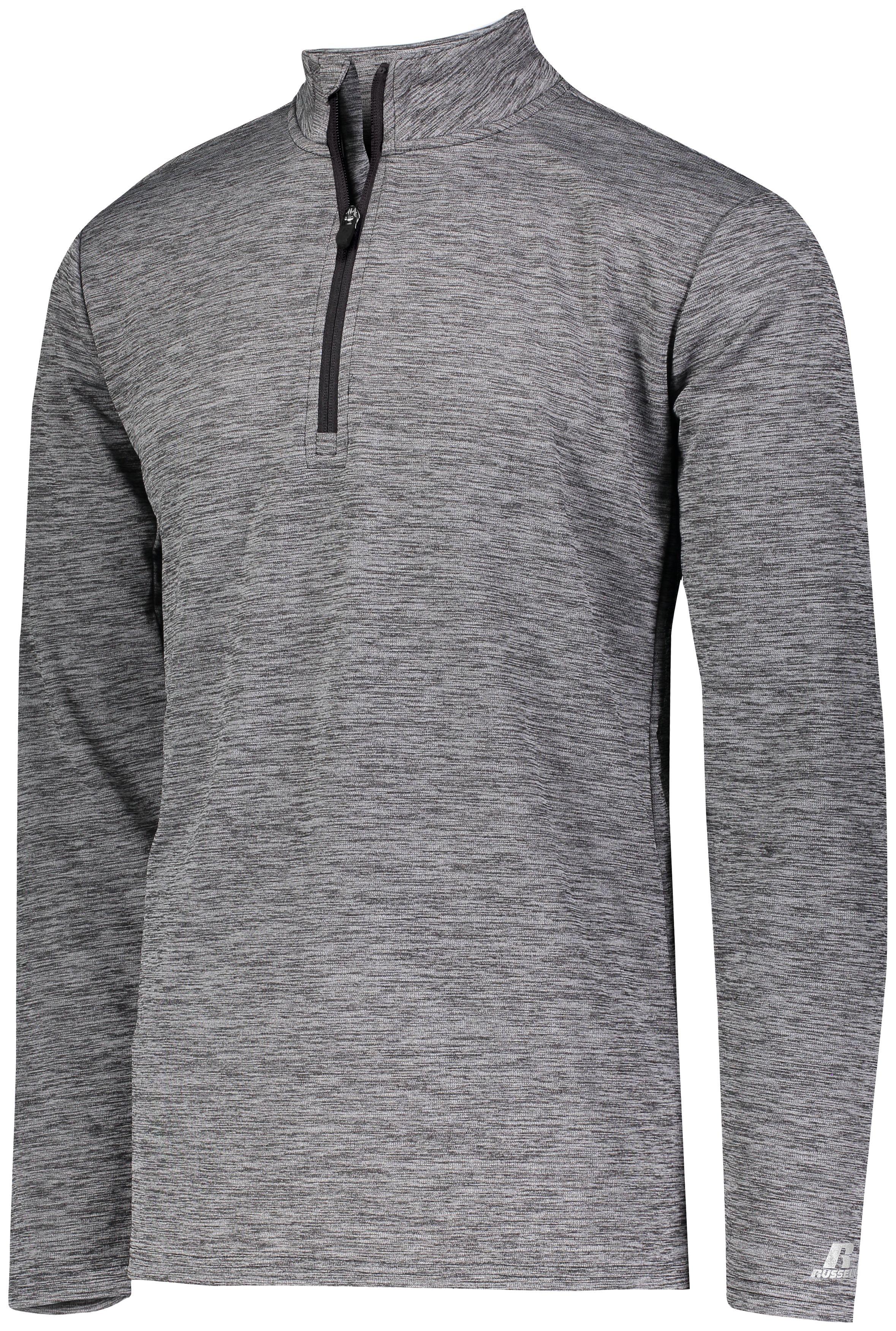 Dri-Power Lightweight 1/4 Zip Pullover - Black