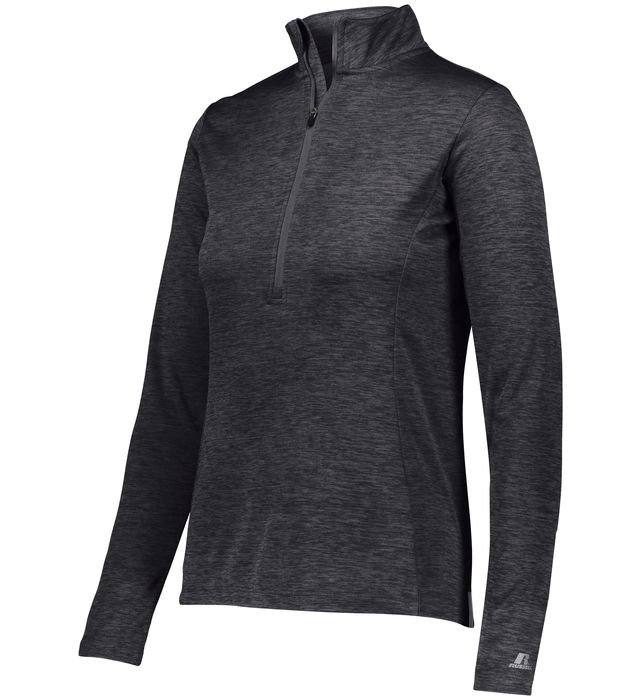 Ladies Dri-Power Lightweight 1/4 Zip Pullover