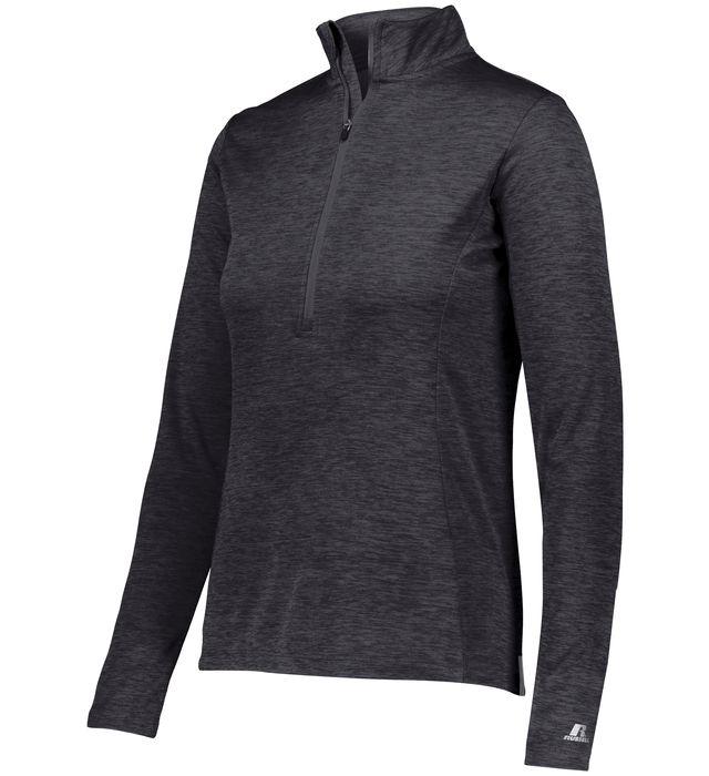 Ladies Dri-Power Lightweight 1/4 Zip Pullover