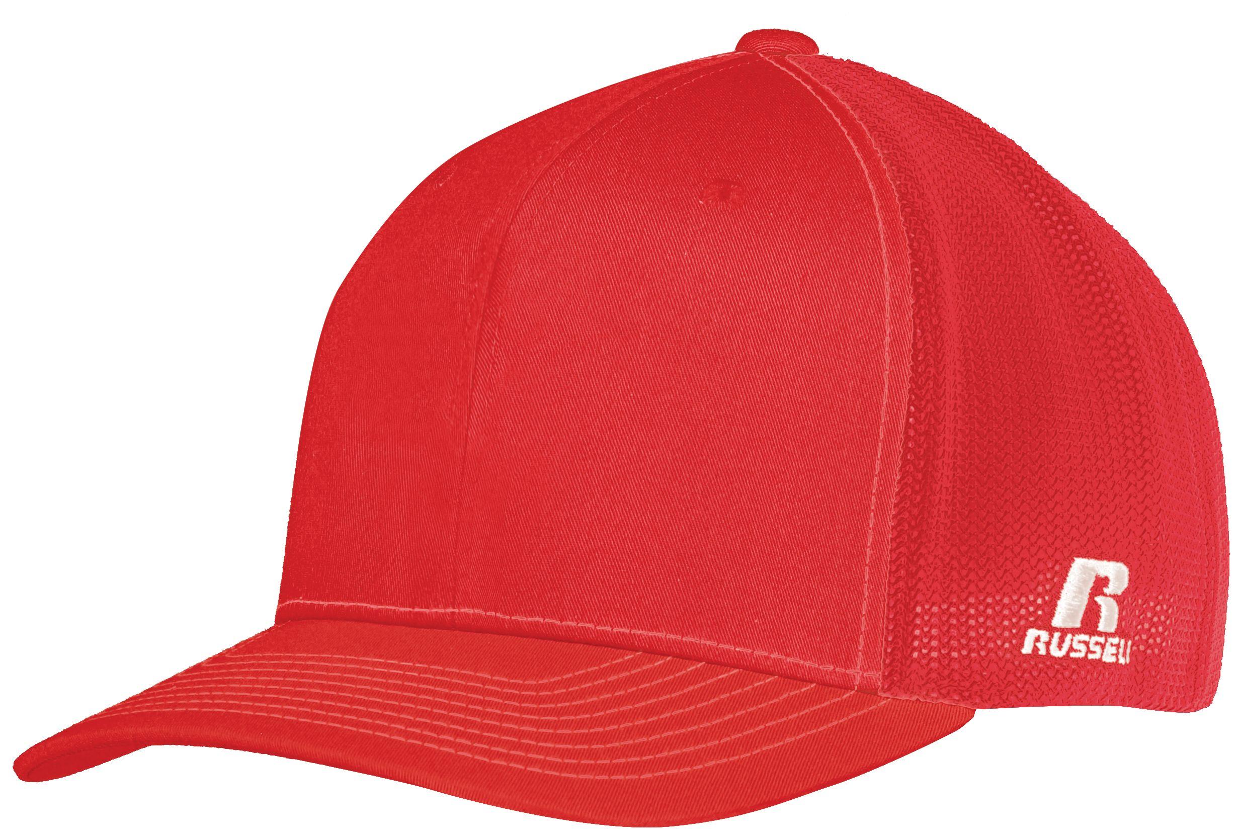 Youth Flexfit Twill Mesh Cap - TRUE RED