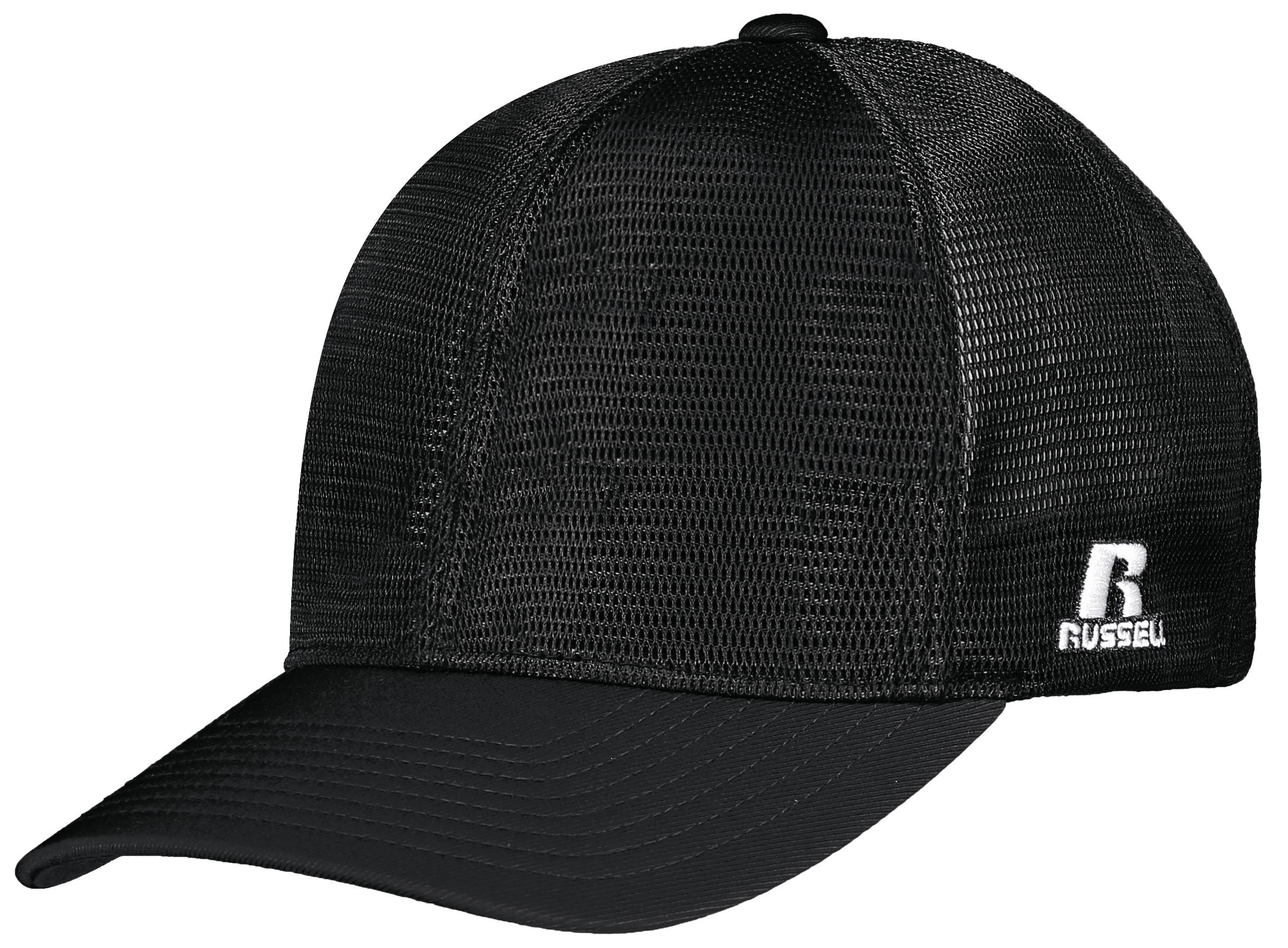Youth Flexfit 360 Mesh Cap - Black