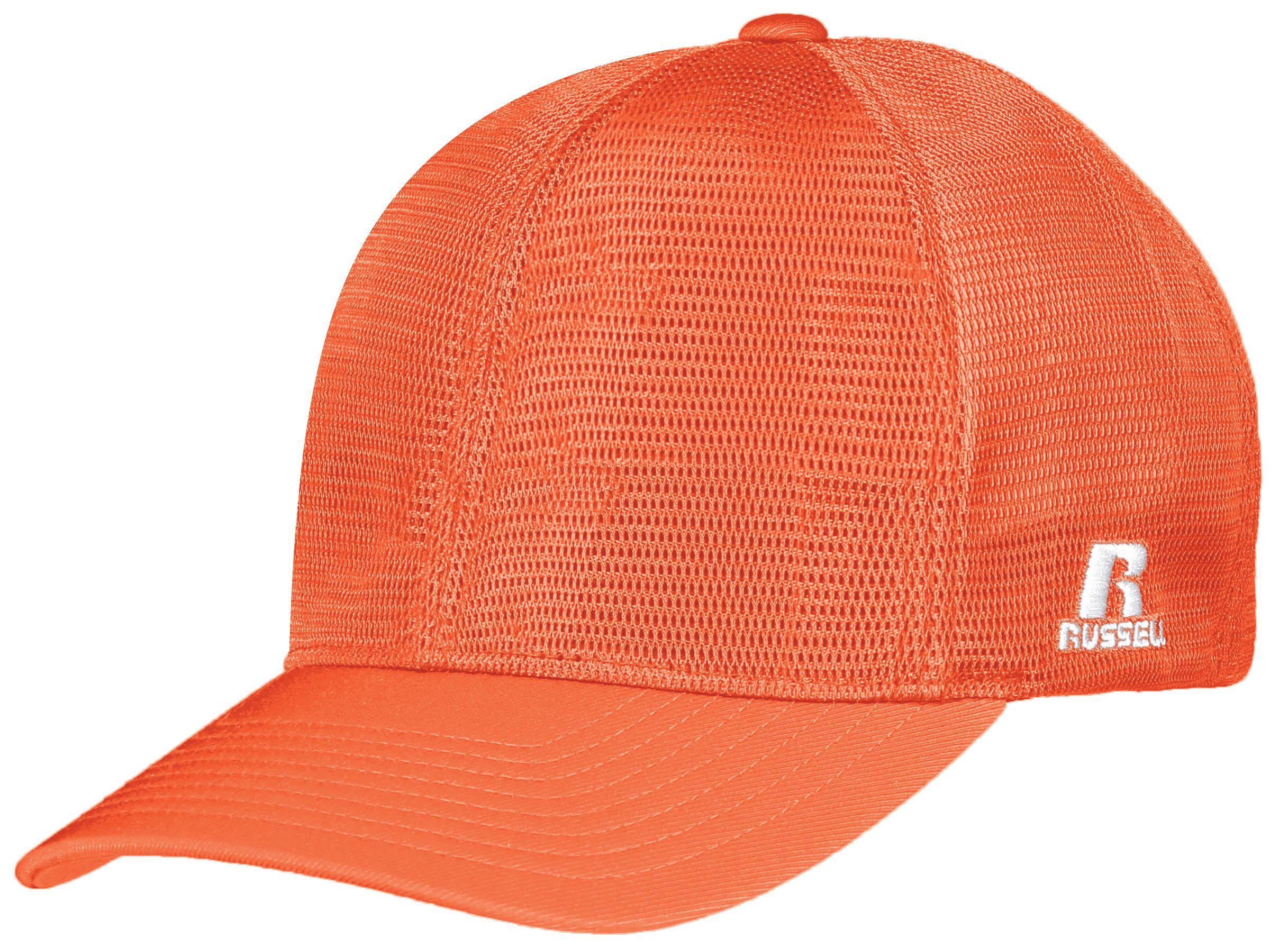 Flexfit 360 Mesh Cap - Burnt Orange