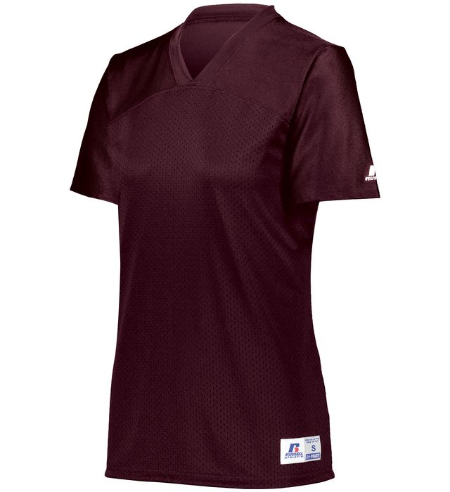 Ladies Solid Flag Football Jersey