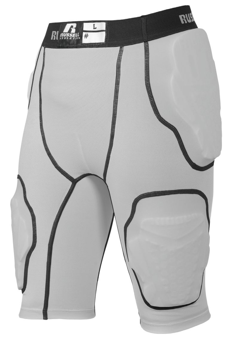 5-Pocket Integrated Girdle - Gridiron Silver