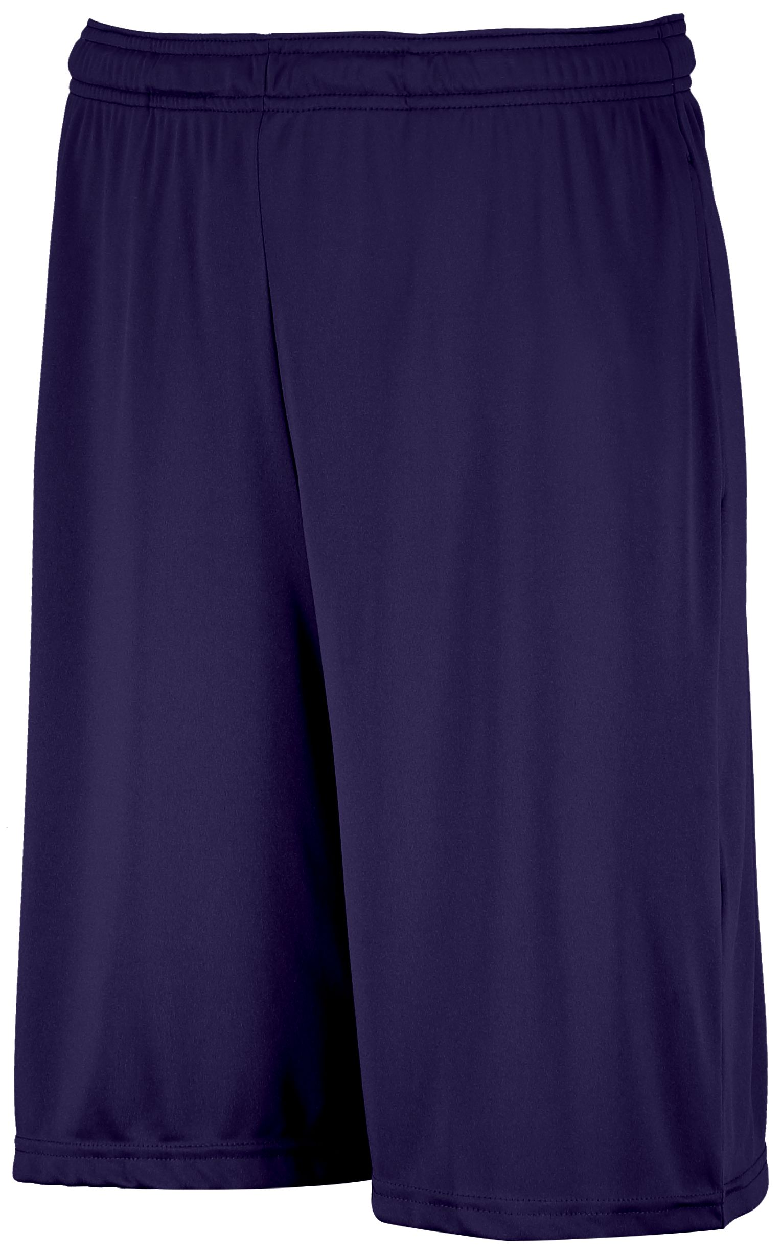 Dri-Power® Essential Performance Shorts With Pockets  - Purple