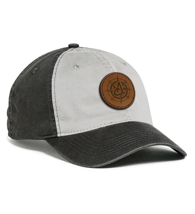 Vintage Buckle Strap Adjustable Cap